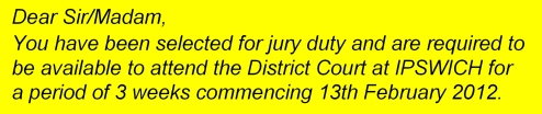 Jury Duty 5